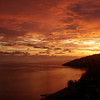 Sunset over Port Moresby