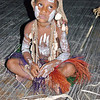 Child in village on Sepik river