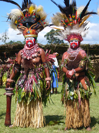 Goroka Coffee Festival, in the Eastern Highlands.
