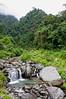 Lower Falls, Mt. Cyclops, Sentani, Papua, Indonesia, July 2009 [Cyclops Falls 2009-07 001_TM Sentani-Papua]