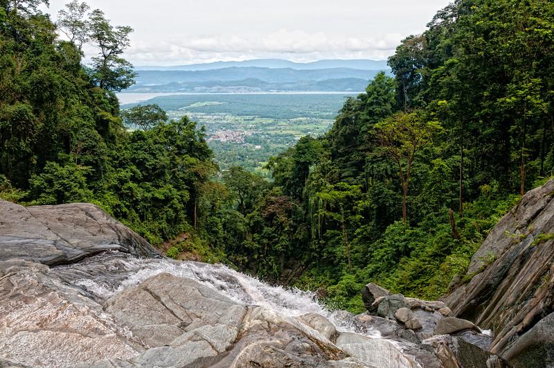 From Upper Falls, Mt. Cyclops, Sentani, Papua, Indonesia, July 2009 [Cyclops Falls 2009-07 021_TM Sentani-Papua]