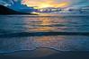 Sunset at Depapre Outer Beach