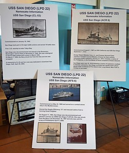 Three Namesake USS San Diego Ships