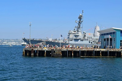 USS Kidd DDG-100 at Broadway Pier
