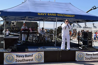 Broadway Pier Navy Band Southwest