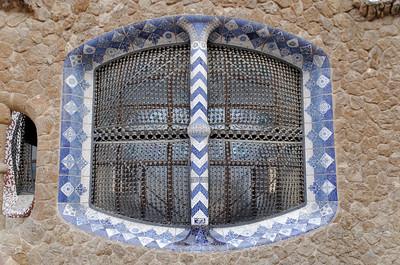 A Gaudi window