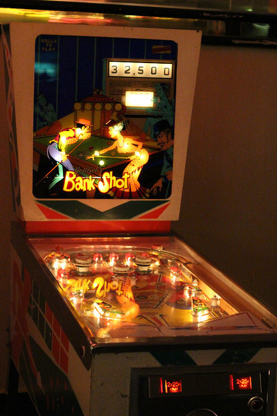 Classic pinball machine at the Riviera