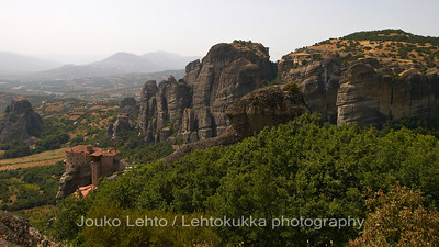 The Monasteries of Roussanou and Grand Meteora