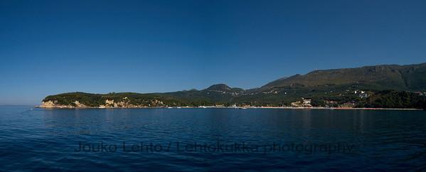 Parga 236: Valtos beach - panorama