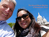 """Two  world travelers, Ed & Susie, in front of """"The Sacred-Heart Basilica of Montmarte"""".  Paris. 04 June 2013.  <br /> <br /> <a href=""""http://ezinearticles.com/?Paris-Montmartre-The-Sacre-Coeur-Basilica&id=7408193"""">http://ezinearticles.com/?Paris-Montmartre-The-Sacre-Coeur-Basilica&id=7408193</a>"""
