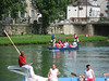 Jousting on the Seine in Melun