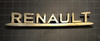 Renault car badge
