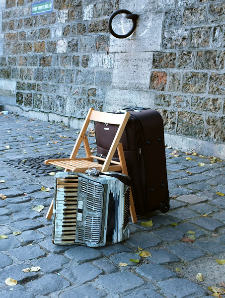 This accordion needs playing.