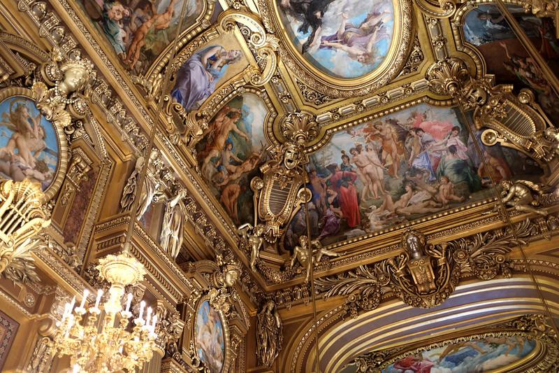 More ceiling details