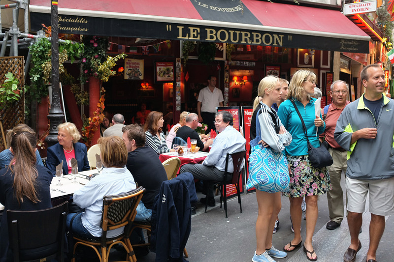 Le Bourbon in the Latin Quarter - a decent meal