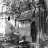 Scene at cemetery