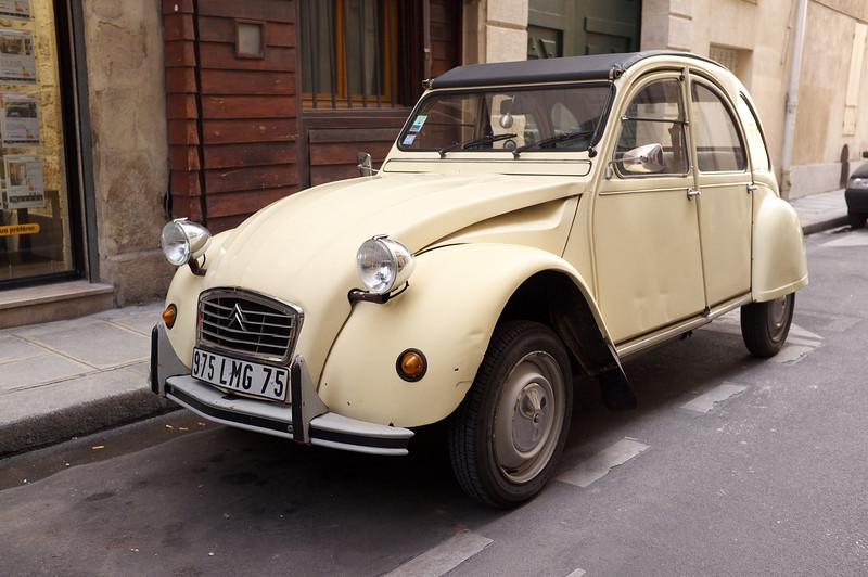A vintage Citroen