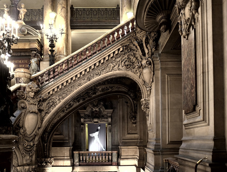 Arched stair details
