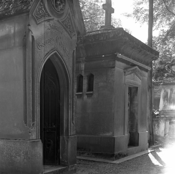 More cemetery scenes