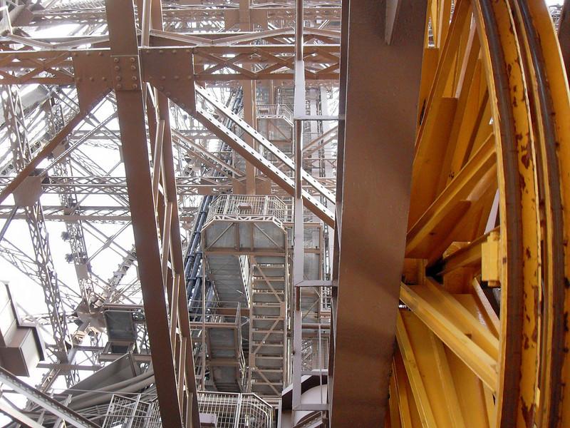 Eiffel large pulley