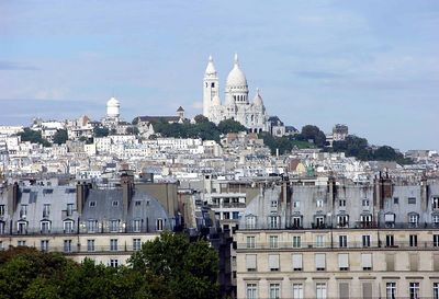 View of Sacré-Coeur from Musée d'Orsay