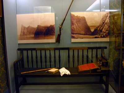 Napoleon's Bench from St. Helena, Musee de l'Armee, Les Invalides