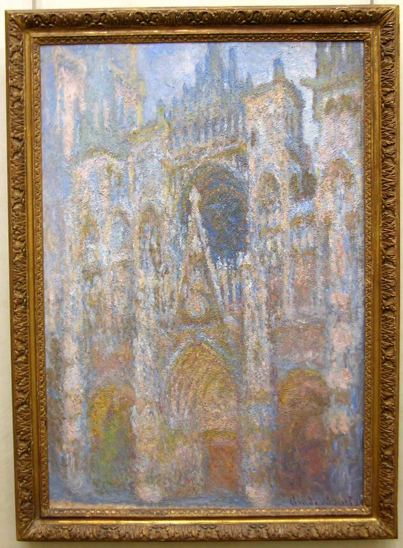 Claude Monet  - Rouen Cathedral, West Façade:  Musée d'Orsay