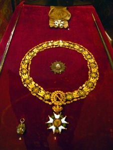 National Order of the Legion of Honor Insignia, displayed in the Musee de l'Armee, Les Invalides