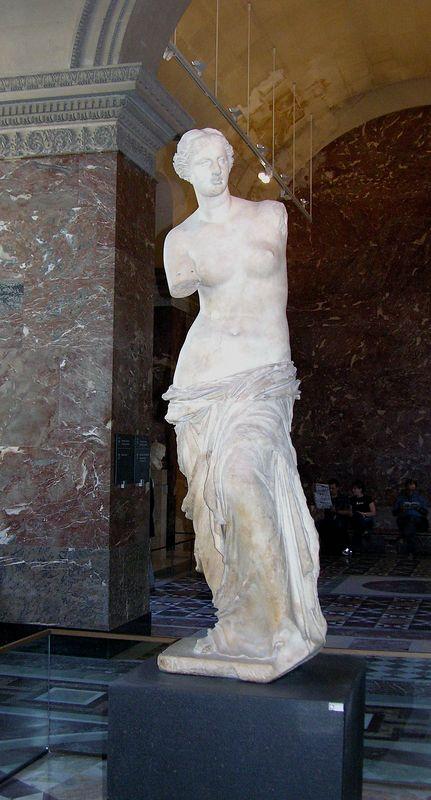 Venus de Milo at Musée du Louvre