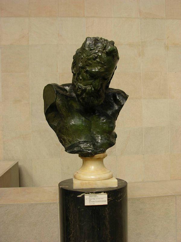 Auguste Rodin - Self-Portrait:  Musée d'Orsay Rodin