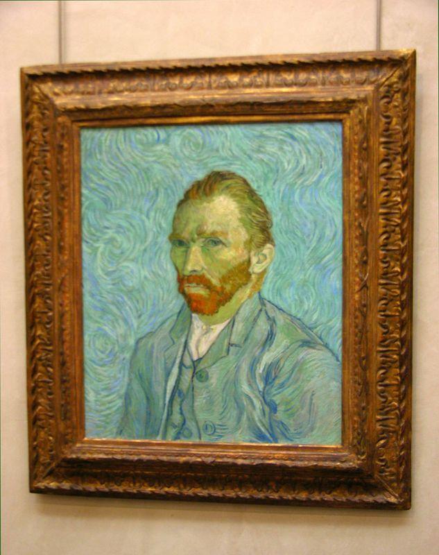 Vincent Van Gogh - Self-Portrait:  Musée d'Orsay