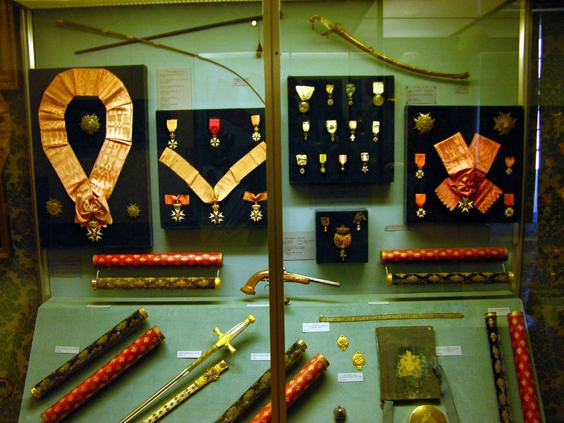 French medals displayed in the Musee de l'Armee, Les Invalides