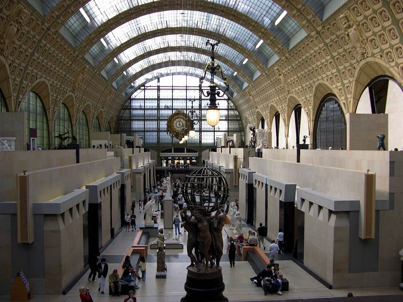 View of 1st Floor at Musée d'Orsay