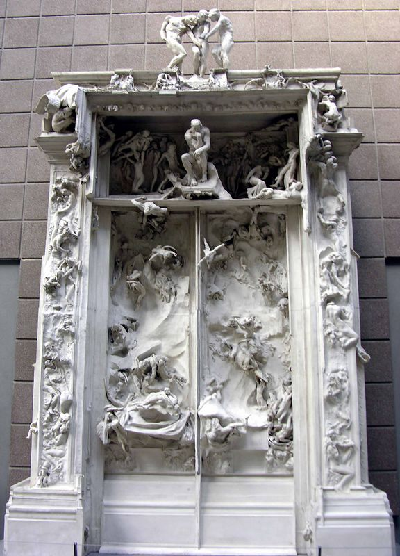 Auguste Rodin - The Gates of Hell:  Musée d'Orsay