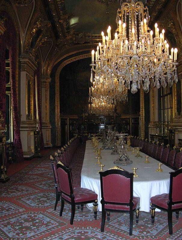 Napoleon III's Dinning Room