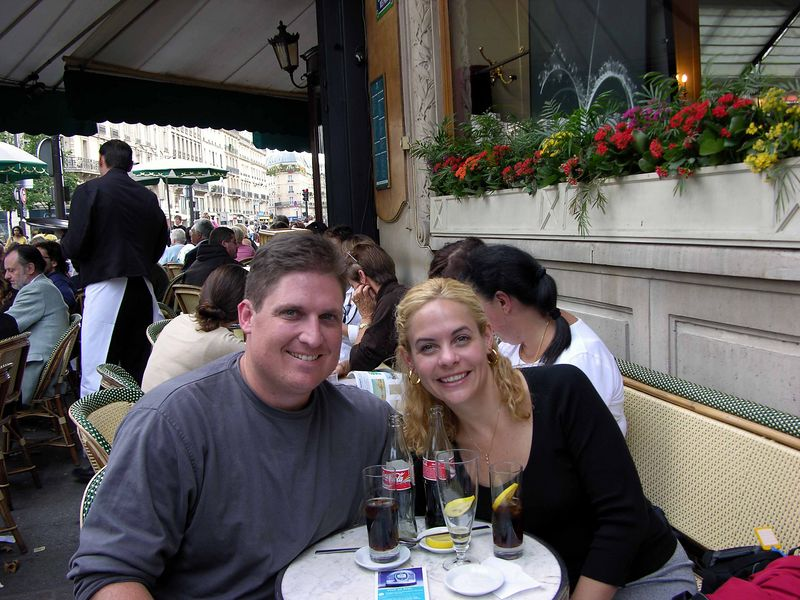 Les Deux Magots Cafe in St. Germain