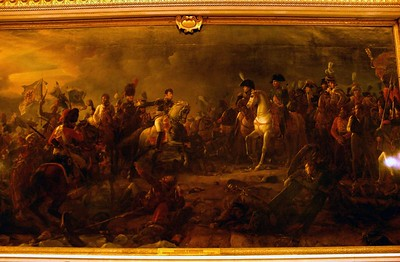 Painting of Battle of Austerlitz at Palace of Versailles
