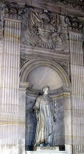 Statue of Napoleon inside Palace of Versailles