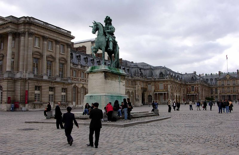 Statue of Louis XIV at Versailles