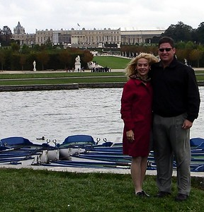 Jodi and Brett at the Palace of Versailles