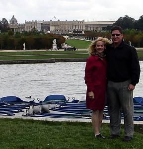 Jodi and Brett at the Palace of Versailles