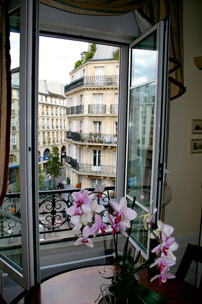 Our apartment in Paris