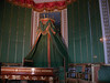 """Detail of Napoleon's """"work desk"""" and, behind that, his bed if he needed to take a rest- Fontainbleau"""