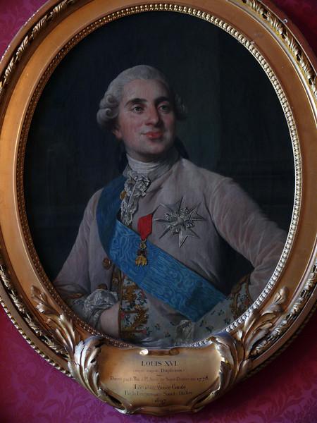 Chantilly- Portrait of Louis XVI