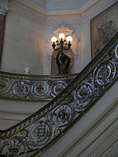Beautiful stairs, too.