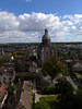 View of Provins, France from Tour Cesar