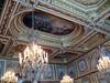 Ceiling in throne room of Napoleon Bonaparte- Fontainbleau
