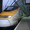 Eurostar at Waterloo International.