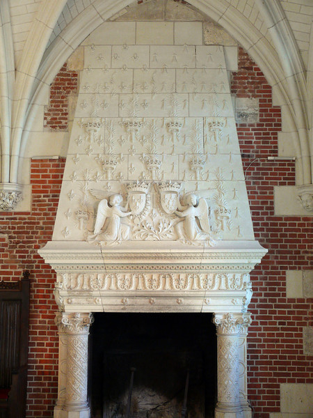 Fire Place- Chateau Royal d'Amboise