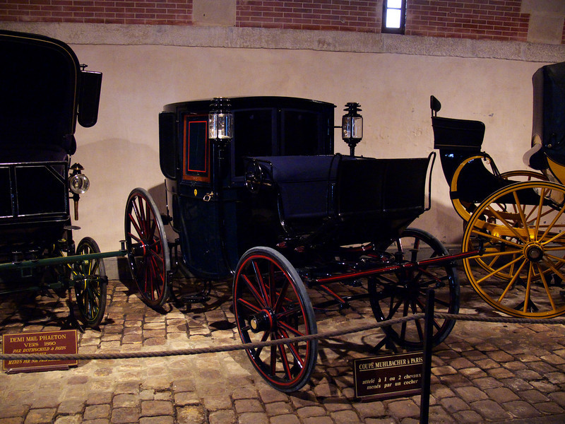 Vaux le Vicomte- In the carriage/stables museum